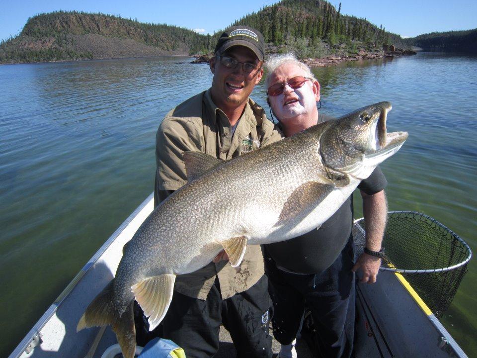 35 Pound Lake Trout